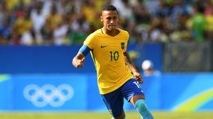 Neymar is back in training