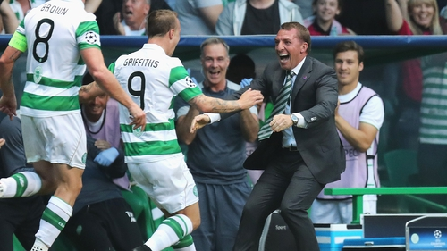Celtic moved 14 points clear in the league