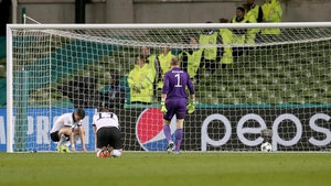 A late second goal may have killed Dundalk's chances