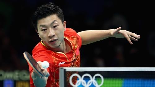 Long Ma in action against Maharu Yoshimura of Japan