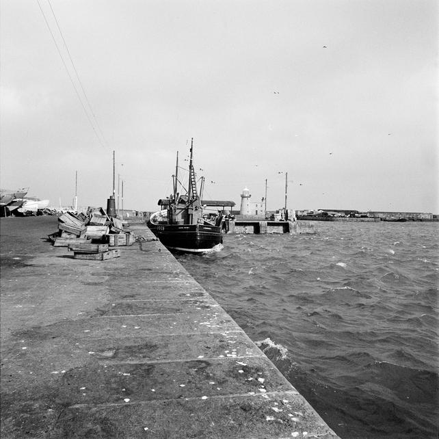 Pier at Howth, County Dublin (1968)