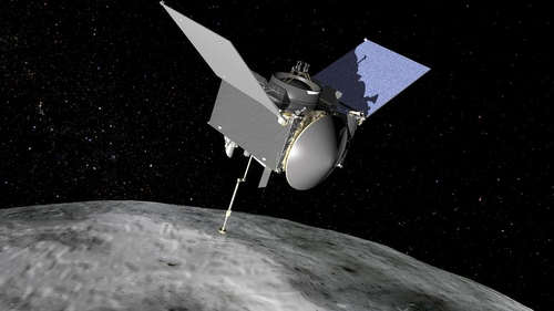 It is hoped up to 200g of samples will be extracted from asteroid Bennu during the 2018 rendez-vous (Pic: NASA)