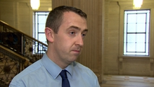 Former Sinn Féin MLA Daithí McKay admitted inappropriate contact with a committee witness