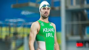 Bryan Keane finished in 40th in the men's triathlon