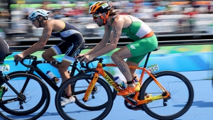 Keane on his bike at the Olympic Games in Rio