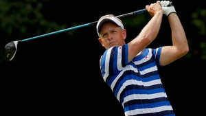 Luke Donald is two strokes behind joint leaders Rafael Cabrera Bello and Kevin Na