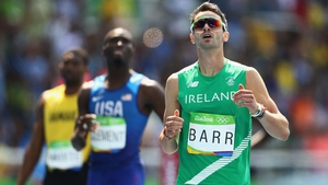 Thomas Barr ran under 48 seconds for the first time in his life