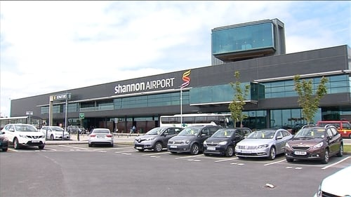 Terminal at Shannon Airport was evacuated for a short time