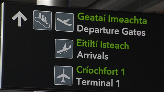 Review of Dublin Airport to include the possibility of a third terminal