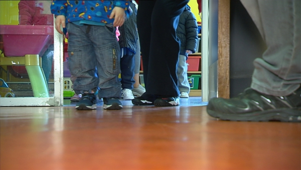 Childcare is scheduled to open on a phased basis for essential workers on 29 June