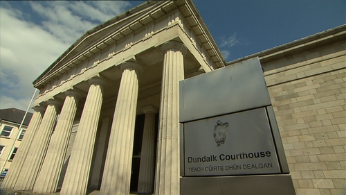 The woman appeared at Dundalk District Court