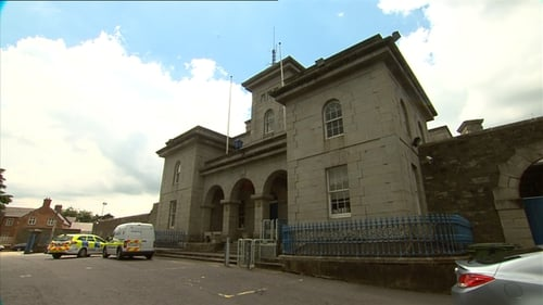 The person was in custody at the garda station at the time of the incident