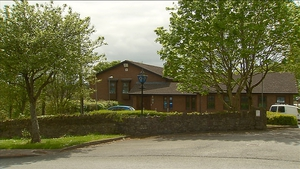 The man is being held at  Mayfield Garda Station