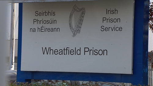 The Prison Service said no inmates at Wheatfield had tested positive