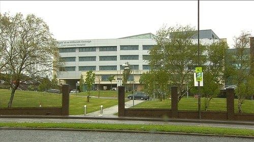 More than 50 people are waiting for admission to a bed at Cork University Hospital, according to INMO figures