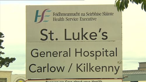 The man and woman both worked at St Luke's Hospital, Kilkenny