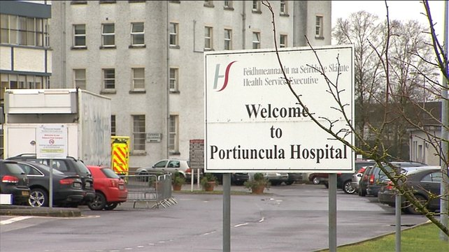 Investigation in 2015 into serious deficiencies in maternity care at Portiuncula Hospital.
