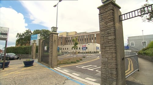 The man was taken by ambulance to Our Lady of Lourdes Hospital in Drogheda