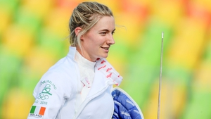 Ireland's Natalya Coyle after the fencing bonus round