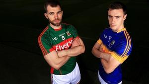 Mayo's Seamus O'Shea and Alan Campbell of Tipperary