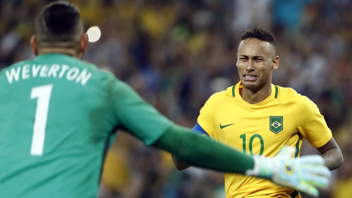 Neymar The Hero As Hosts Brazil Secure Gold