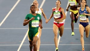 Caster Semenya is a double Olympic and triple World champion