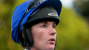 Katie Walsh's mount was brought down in the Australian Grand National