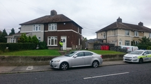The incident happened at a house on Stannaway Road in Crumlin