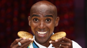 Mo Farah won gold in the 5,000 and 10,000 metres at both the 2012 and 2016 Games