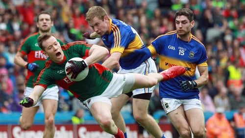 Cillian O'Connor and Mayo are still standing with one hurdle left in the All-Ireland race