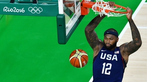 Big man DeMarcus Cousins was a dominant force for the US