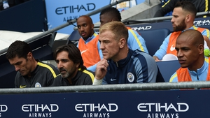 Hart has lost his place as City's number one goalkeeper