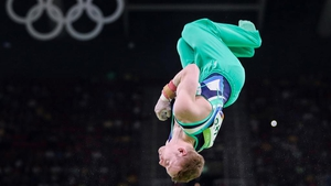 Kieran Behan was head over heels as he finished 38th in the Artistic Gymnastics, but he failed to make the final.