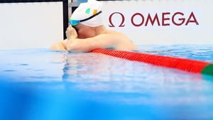 Heartbroken Fiona Doyle could not hide her dismay after missing out on the 100m breast stroke semi-finals.