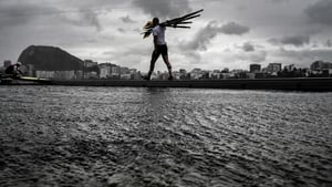 The rowing events suffered delays and cancellations due to the weather - though there would be plenty of joy on the water for the Irish...