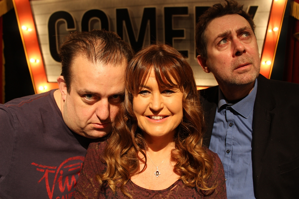 Karl Spain, Fiona Looney and Sean Hughes