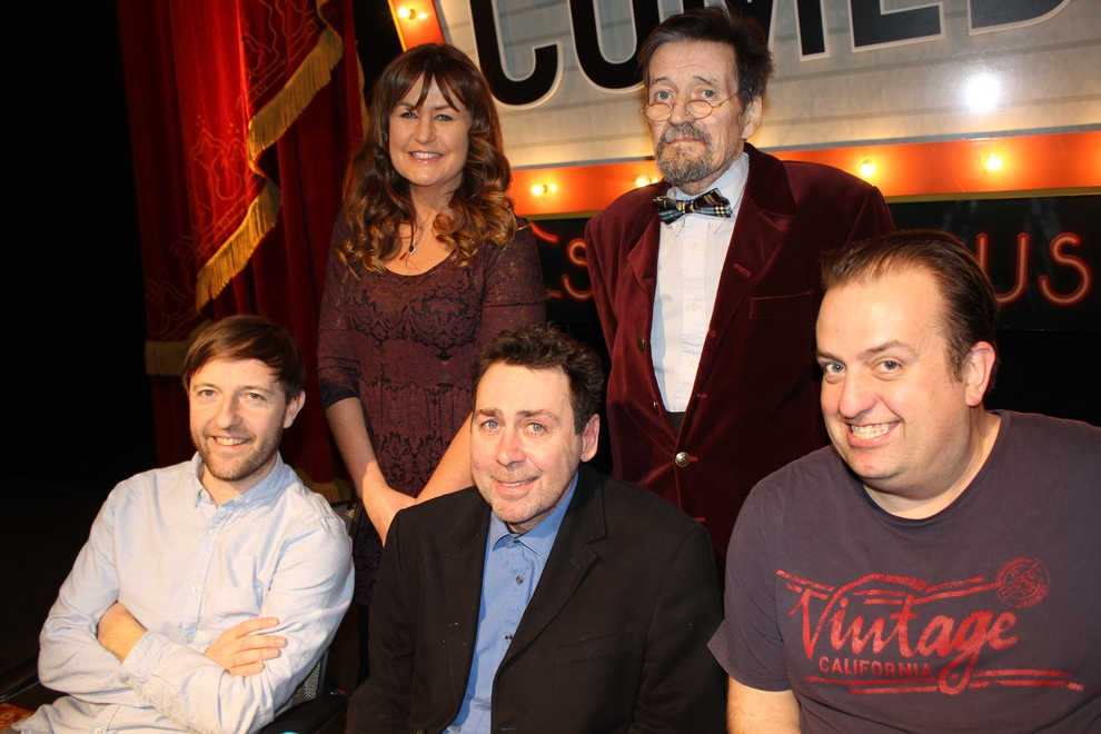 Andrew Maxwell, Fiona Looney, Sean Hughes, Michael A Fitzgerald and Karl Spain