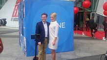 Pictured at the RTÉ new Season launch - Kathryn is a big Daniel fan