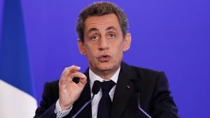 Nicolas Sarkozy said 'the five years that come will be full of danger, but also of hope'