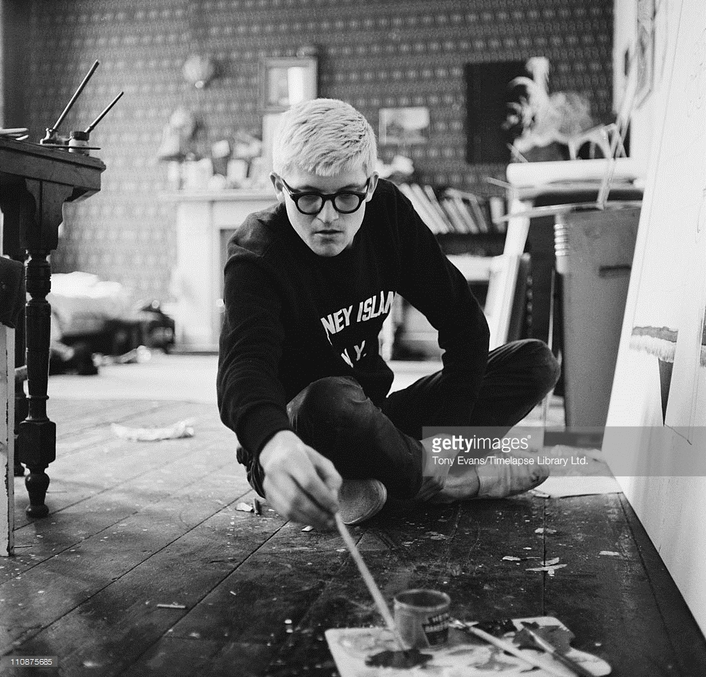 """Review: """"I Draw, I Do"""" by David Hockney at the MAC Belfast"""