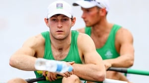 Paul O'Donovan qualified for Wednesday's quarter-final as heat winner