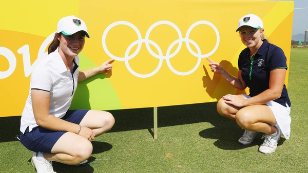 Leona Maguire and Stephanie Meadow represented Ireland at the Rio Olympics in 2016