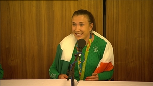 Annalise Murphy returned to Dublin earlier today