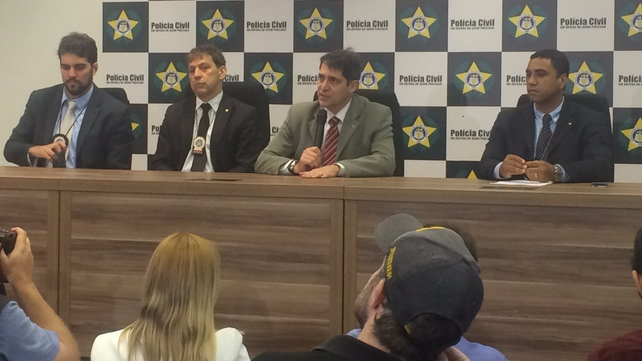 Rio police held a news conference this evening