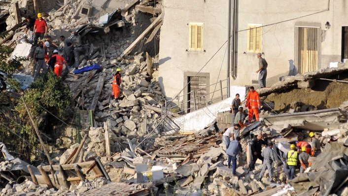 Death toll continues to rise after Italy quake
