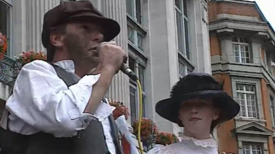 Tony Gregory in the 1913 Lockout Re-enactment (1993)