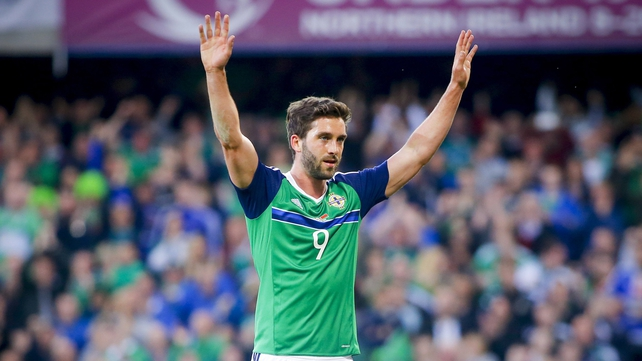 Wigan striker Will Grigg to miss Northern Ireland's opening World Cup qualifier