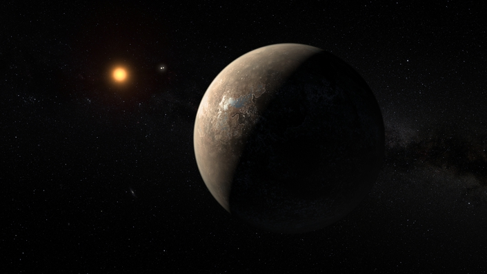 How was the potentially habitable planet discovered?