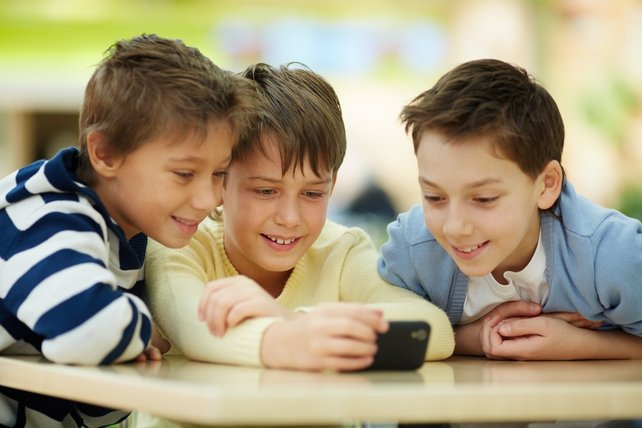 The majority of children have access to a smart device