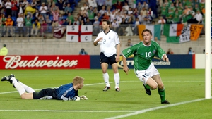 The Tallaght man's first and only World Cup in 2002 yielded three goals - the biggest a late, late equaliser against Germany